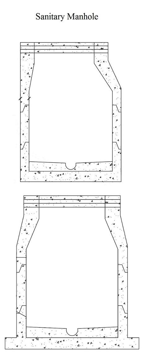 Sanitary Manholes/Lift Stations